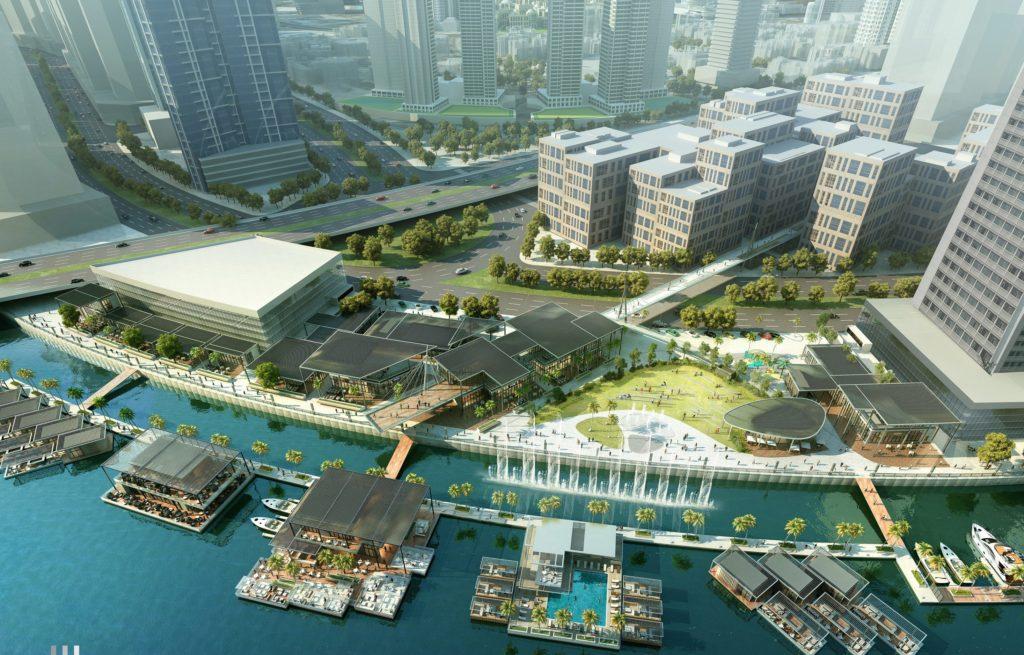 Marasi Business Bay marina