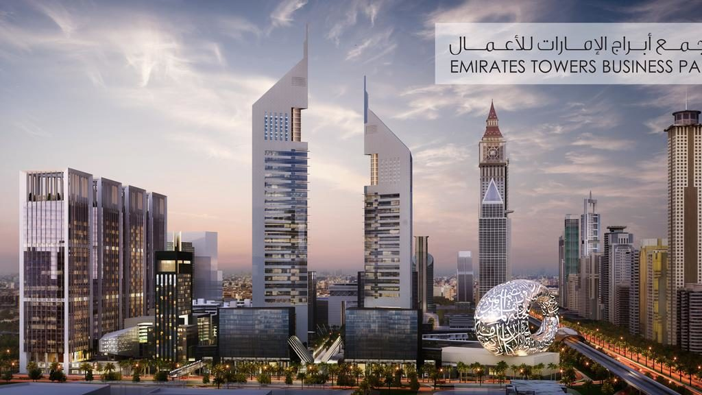 Emirates Towers Business Park project