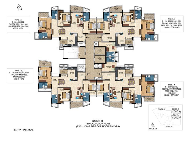 Salarpuria Sattva Casa Irene