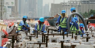 Dubai's construction